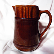 Early Medalta Potteries Limited Plain Cane Pitcher