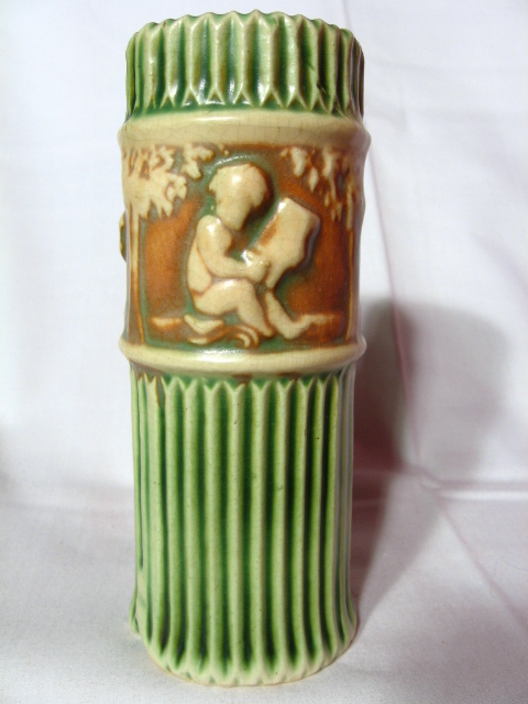 """Roseville Donatello 6"""" Vase"""