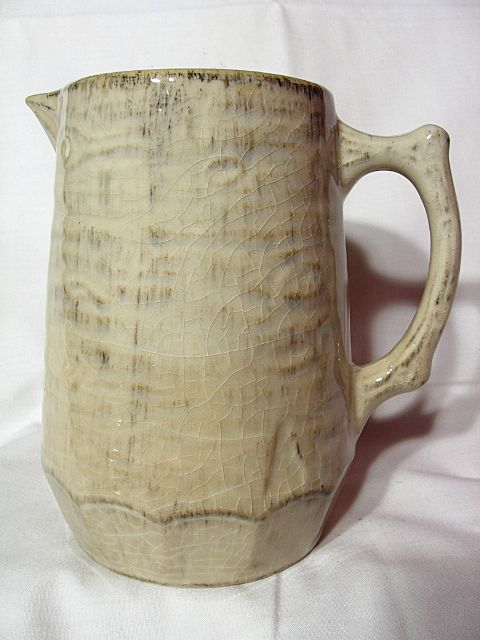 Medalta Redcliff Birch Bark Pitcher