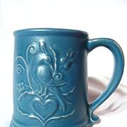 Chatham Potters Lovebird Stoneware Mug