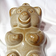 West German Pottery Teddy Bear Baking Mould ~ Model 953-21