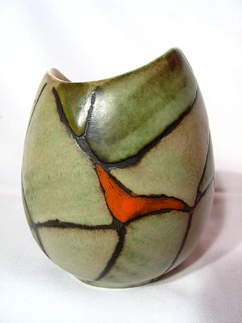 B.C. Ceramics Patio Line By Herta Vase