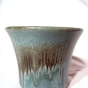 Blue Mountain Pottery Slate Flower Pot