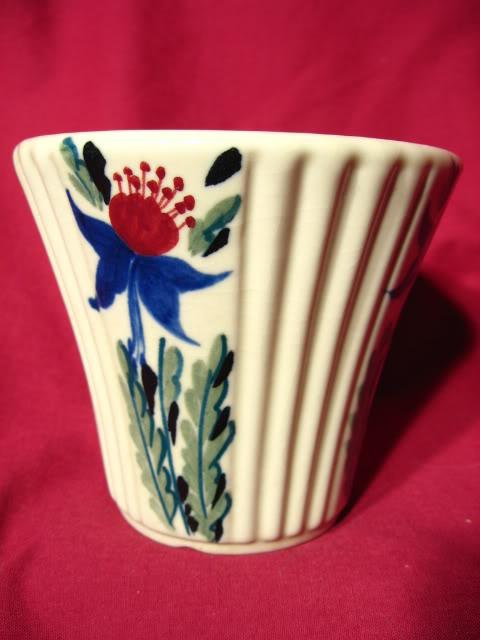 Abingdon Hand Decorated LaFleur Flower Pot ~ Model 150