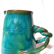 Dicker Ware Twist Handled Mini Pitcher
