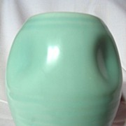 Vintage 1930's Beswick Ringed Pinch Pot Vase ~ Model 347