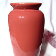 Harris Pottery Rose Trumpet Vase