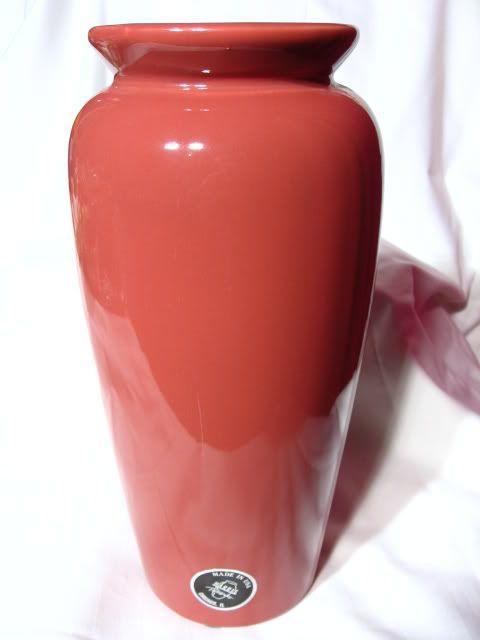 Harris Pottery Rose Trumpet Vase From Prairiewindantiques