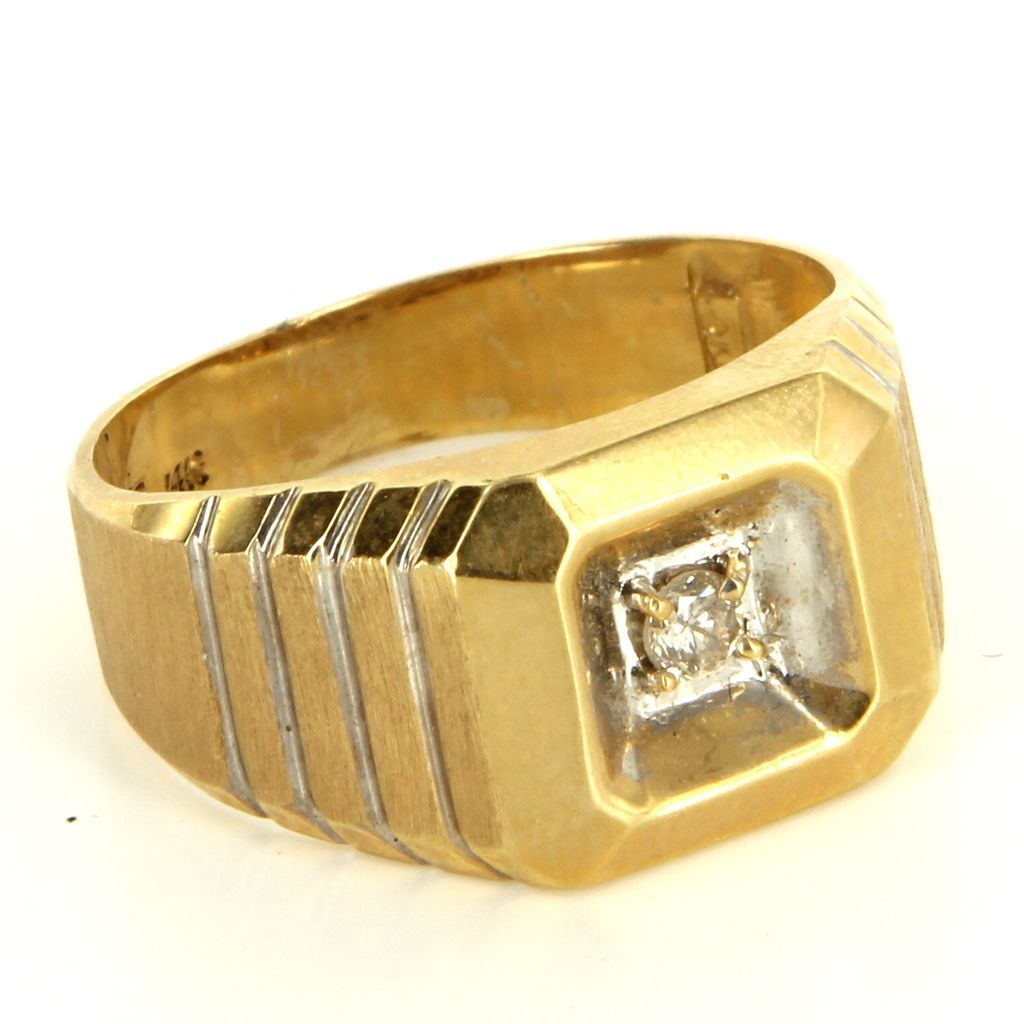Kt Gold Rings Mens Gold Ring
