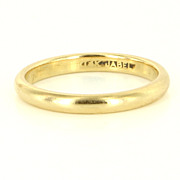 Vintage Jabel 14 Karat Yellow Gold Wedding Band Ring Fine Estate Jewelry Used 6