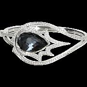 Stephen Webster Murder She Wrote 18 Karat Gold Diamond Cuff Bracelet Estate
