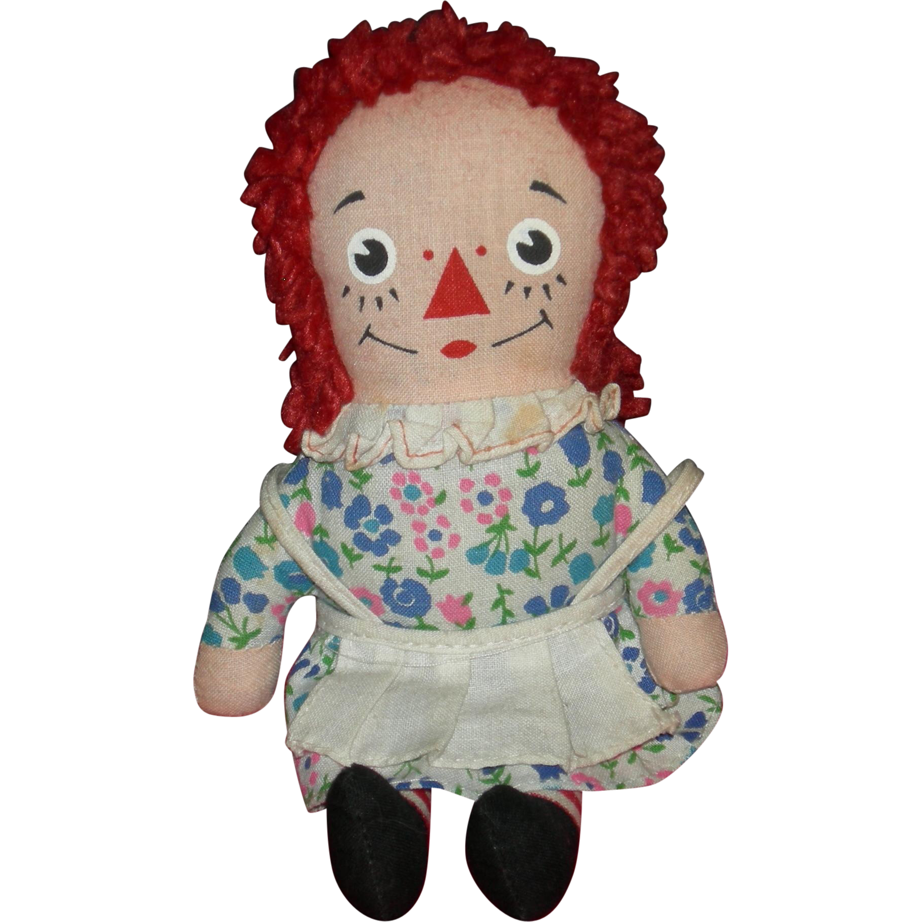 "Tiny 7"" - RAGGEDY ANN - Knickerbocker - Vintage Doll - For Your Dolly To Hold & To Love!!"
