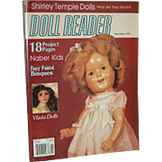 OLD DOLL READER - 1990 - Stories, Patterns, Cut-outs, Pictures - Very Good Condition!!