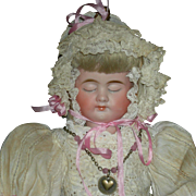 (3) THREE FACE DOLL - Carl Bergner Faces - Bisque Head & Composition Body - Pretty Clothes!! - 14""