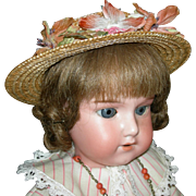"ARMAND MARSEILLE 390 - Made in Germany - 17"" - Cute Dolly w/ Sleep Eyes!"