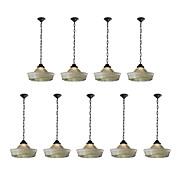 Antique Industrial Holophane Lights