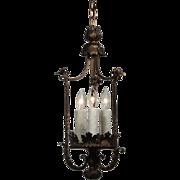 Antique Tudor Iron Pendant