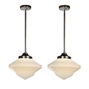 Antique Art Deco Pendant Lights
