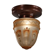 Antique Flush Mount Light