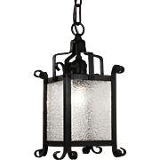 Tudor Lantern Pendant, Antique Lighting