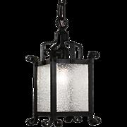 Tudor Lantern Pendant, Antique Lighting