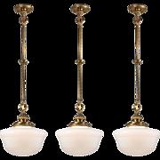 Neoclassical Pendant Lights, Antique Lighting