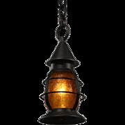 Antique Pendant Light by Moe Bridges