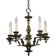 Antique Tudor Chandelier