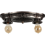 Spanish Revival Flush Mount, Antique Lighting