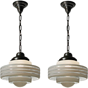 Art Deco Pendant Lights, Antique Lighting