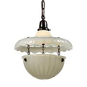 Neoclassical Pendant Light, Antique Lighting