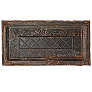 Marvelous Antique Ceiling Tin Tiles, Early 1900s