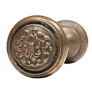 "Superb Antique ""Fenmore"" Bronze Doorknob Sets by Reading, c.1905"