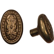 "Antique ""Savenay"" Door Knob Sets by Reading Hardware, c.1910"