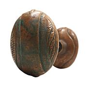 Antique Art Nouveau Doorknob Set by F.C. Linde