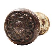 """Antique """"Nouvelle"""" Doorknob Sets by Reading Hardware, c. 1905"""