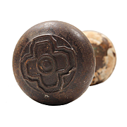 Antique Doorknob Sets with Quatrefoil, Early 1900s