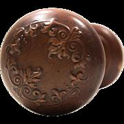 "Antique ""Vittoria"" Doorknob Sets by Corbin, c. 1895"