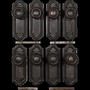 Marvelous Antique Door Hardware Sets, Early 1900's