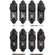 "Antique ""Leroy"" Door Hardware Sets by Russell & Erwin, c.1909"
