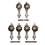 Antique Nickel Tudor Door Hardware Sets