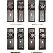Antique Door Hardware Sets, Early 1900's