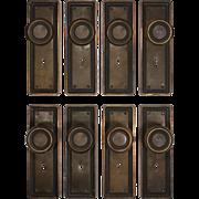 Antique Brass Door Hardware Sets, c.1900