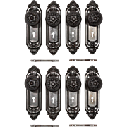 Antique Neoclassical Door Hardware Sets, Early 1900s