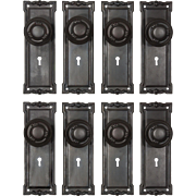 Antique Door Hardware Sets, Early 1900s