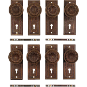 "Antique ""Elaine"" Door Hardware Sets by Reading Hardware, c.1895"