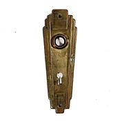 Attractive Salvaged Art Deco Door Plates