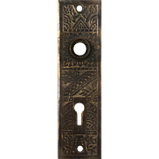 "Antique ""Windsor"" Doorplates by Reading Hardware, c. 1900"