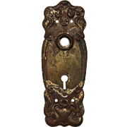 Antique Art Nouveau Door Plates, c. 1905