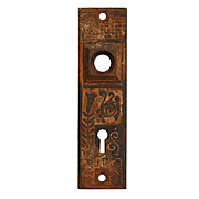 Antique Eastlake Doorplates, Late 19th Century